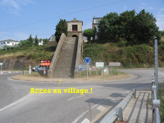 Ville de Portomarin
