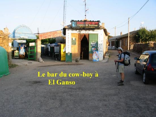 Bar du cow boy à El Ganso