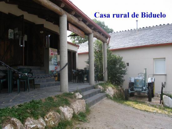 Casa rural de Biduelo